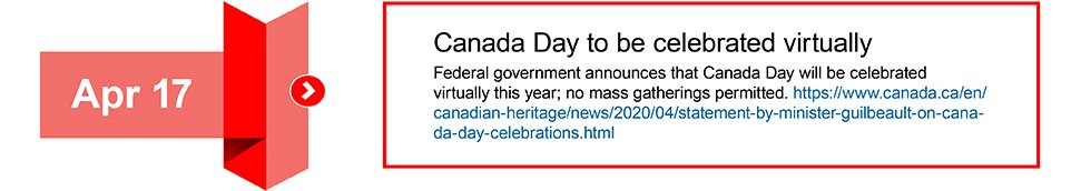 April 17 Canada Day to be celebrated virtually