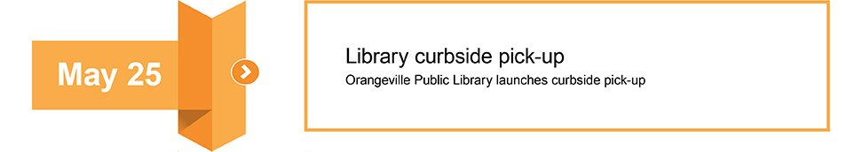 May 25 Library curbside pickup