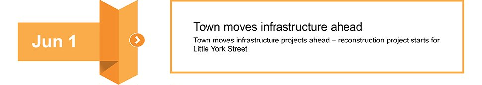 June 1 Town moves infrastructure forward